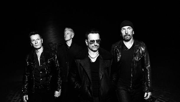 Gli U2 in vetta hit parade, segue Fedez