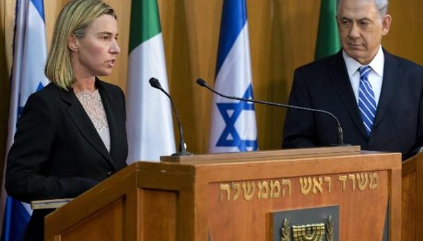Mogherini, Israele fermi insediamenti