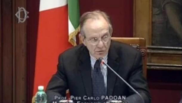 Padoan, da Italia 1000 progetti a Ue