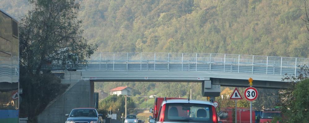 Ultimati lavori e collaudo Riaperto il ponte Gazzaniga-Cene
