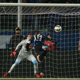 Il gol di  Denis da un'altra angolazione