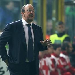 L'allenatore del Napoli Rafael Benitez