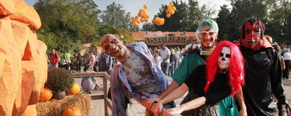 Magic Halloween  a Gardaland Parco aperto fino alle 24