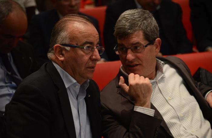 Da sinistra, Gigi Petteni e Ferdinando Piccinini
