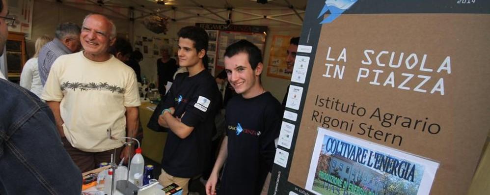 Bergamoscienza: gli studenti presentano alla città i loro progetti