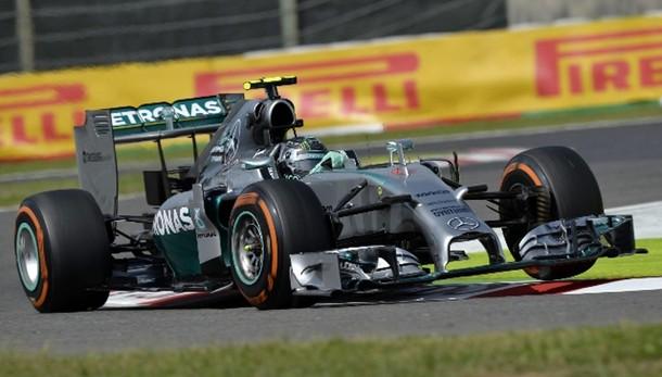 Gp Giappone: pole a Rosberg, 5/o Alonso