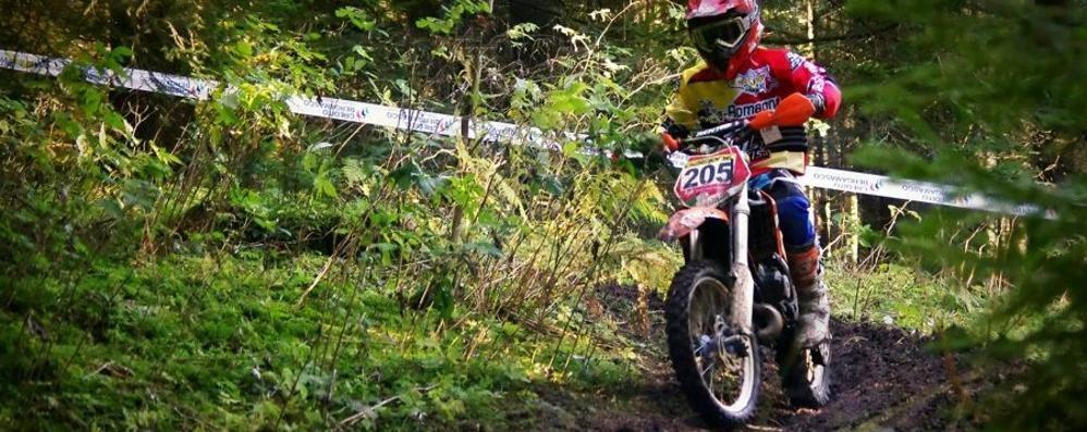 Scatta la gara nazionale di enduro Tregua fra motociclisti e ambientalisti