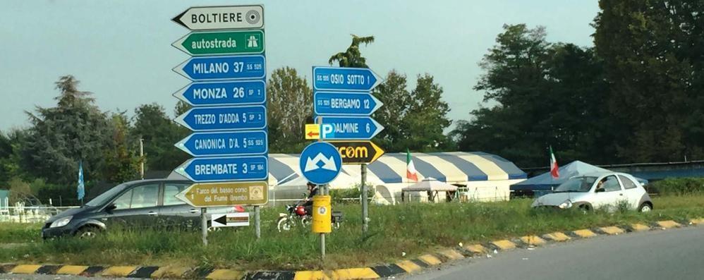 Canonica-Bergamo,  solo 16 km Per percorrerli almeno 45 minuti