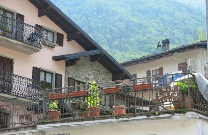 Valbondione - L'abitazione dove Benvenuto Morandi, ex sindaco di Valbondione, sta scontando gli arresti domiciliari