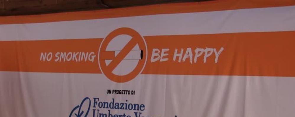 No Smoking Be Happy a BergamoScienza