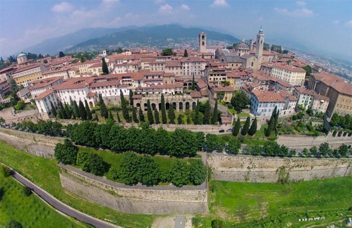 Panorama di Città Alta