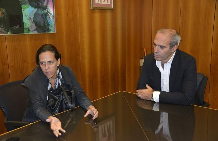 Ines Lobo e Francesco Valesini
