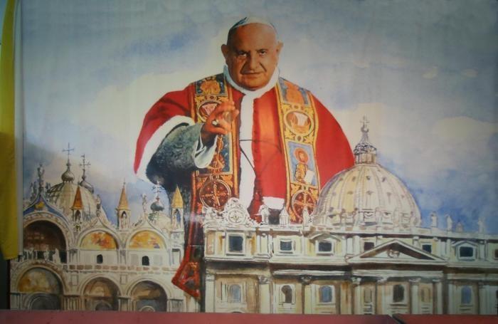 La vigilia di preparazione a Sotto il Monte per la canonizzazione di Papa Giovanni XXIII lo scorso 27 Aprile