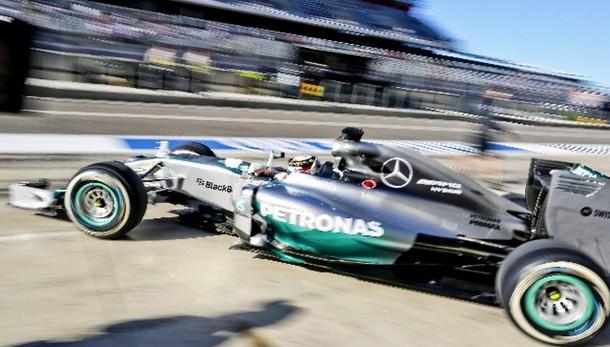 F1: Usa, Hamilton vola in ultime libere