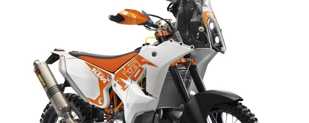 Un kit Acerbis per la Ktm 450 Rally Replica