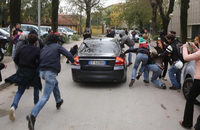 L'aggressione a Salvini