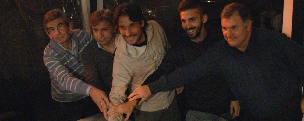 Club Amici Atalanta, tappa a Lovere D'Alessandro: un sogno battere la Roma