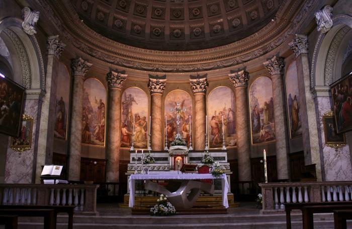 La chiesa di Sant'Andrea in Città Alta