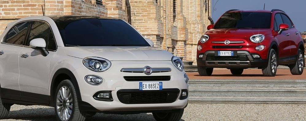 Fiat 500X da febbraio 400 già prenotate online