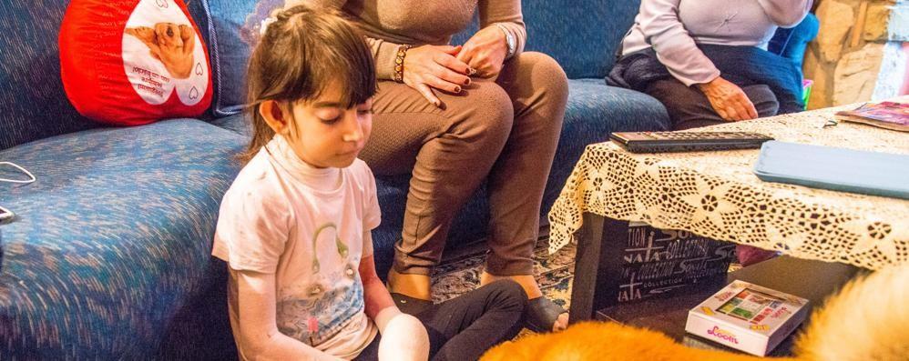 Jessica, la bambina «farfalla» Convive con una malattia rarissima