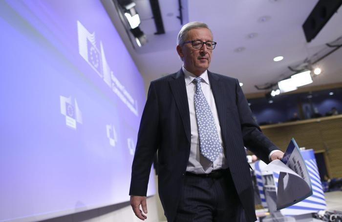Jean-Claude Juncker EPA/OLIVIER HOSLET