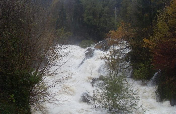 La situazione dei fiumi in montagna