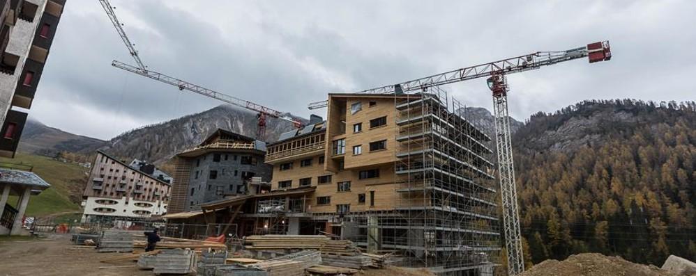 Foppolo, Belmont quasi finito A dicembre pronti i 29 appartamenti