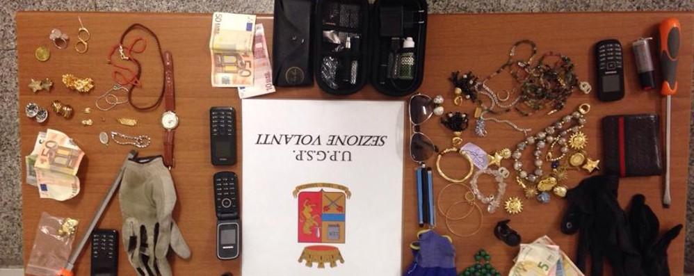 La polizia arresta tre rom a Loreto Avevano rubato in un appartamento