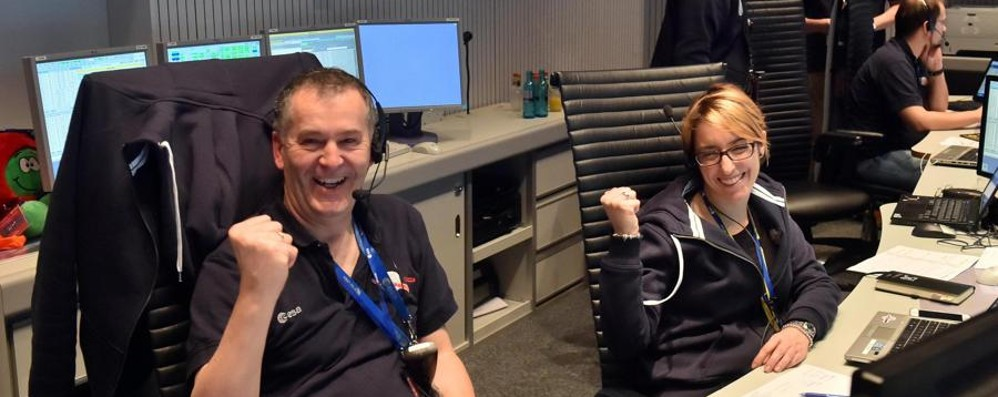 Un bergamasco con la sonda Rosetta Ha assicurato il servizio delle antenne