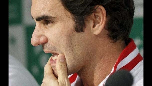 Coppa Davis: Federer ancora non s'allena