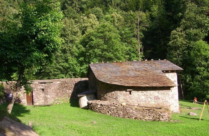 Il mulino di Roncobello della famiglia Danesi