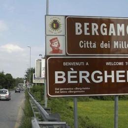 Novità sui cartelli Bèrghem? La scritta resta ma si restringe