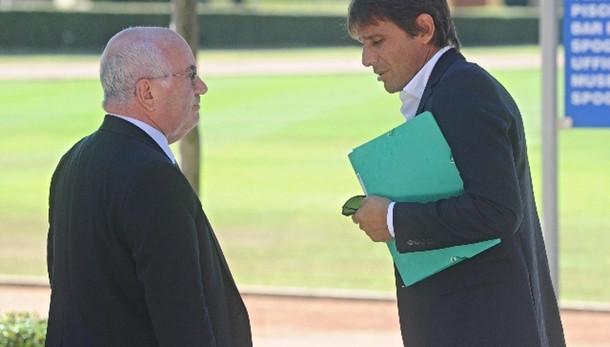 Tavecchio, supporteremo Conte in tutto