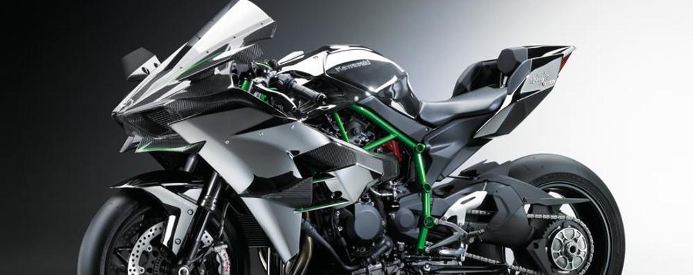 Kawasaki Ninja H2R Accelerazione mai vista