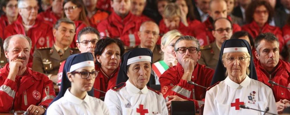 Il compleanno della Croce Rossa 150 anni con Bergamo in prima linea