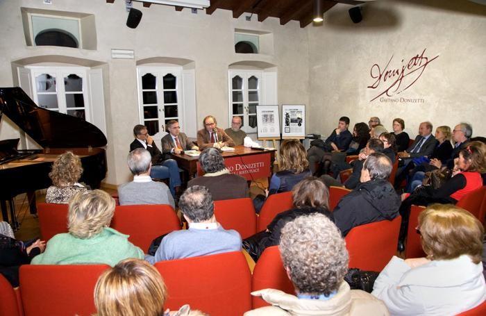 La serata dedicata alla storia di Bergamo e del suo giornale