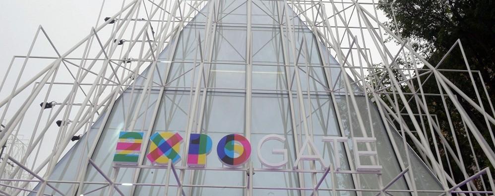 Expo sempre più in rosa Tre bergamasche in scena
