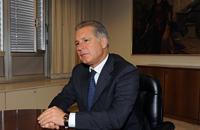 Il questore di Bergamo Dino Finolli