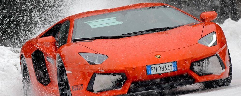 Auto, moto e go-kart sulla neve Apre a Serina la pista dei brividi