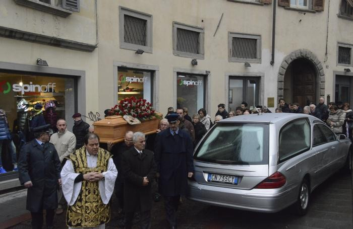 I funerali di Tino Acquaroli