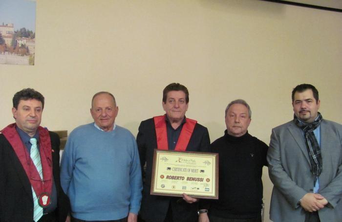 Da sinistra: Manetta, Cacciolo, Benussi, Foglieni, Camer