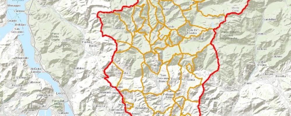 La Val Brembana diventa digitale Online anche sentieri e percorsi ciclabili