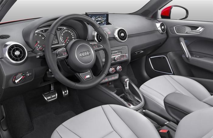 L'interno dell'Audi A1