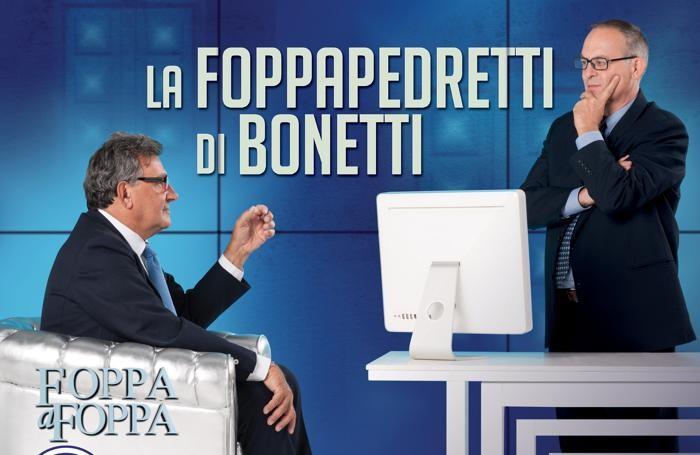 Il presidente Bonetti a «Foppa a Foppa», come a «Porta a porta»