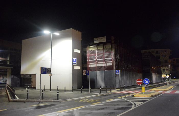Il parcheggio della stazione delle Autolinee