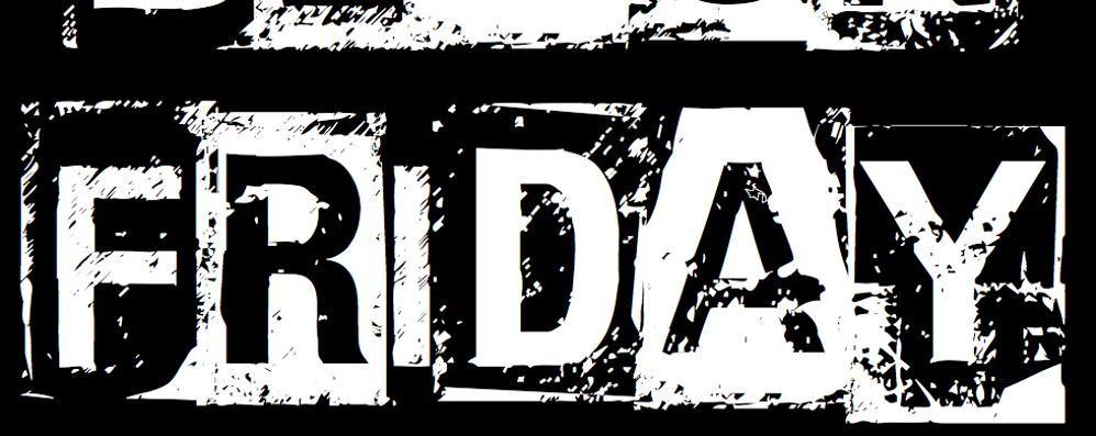 Oggi è il «Black Friday» Dall'America fino a Bergamo
