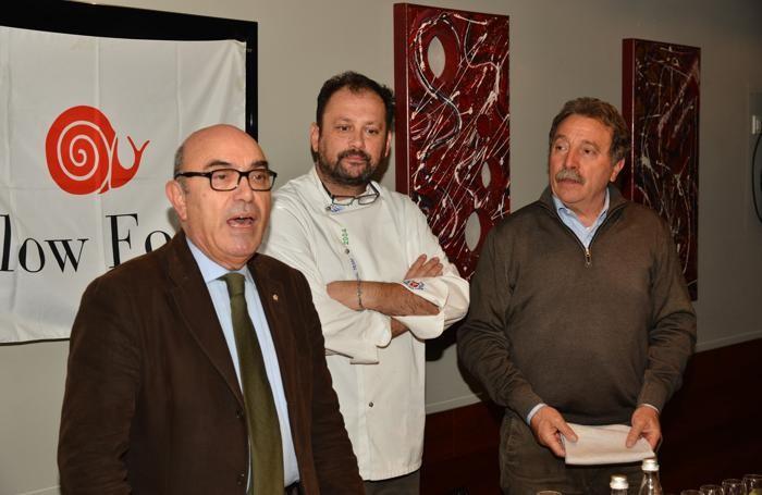 Da sinistra: Silvio Magni, Chicco Coria e Federico Crippa