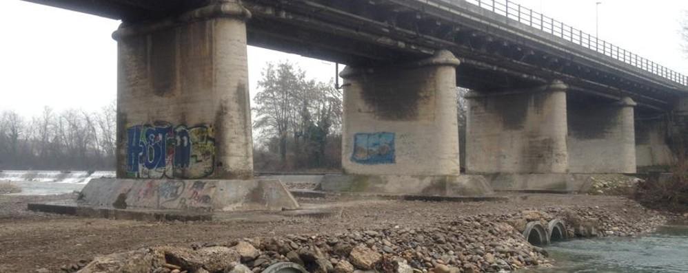 Fondamenta dei piloni a rischio   Lavori urgenti al ponte di Cassano