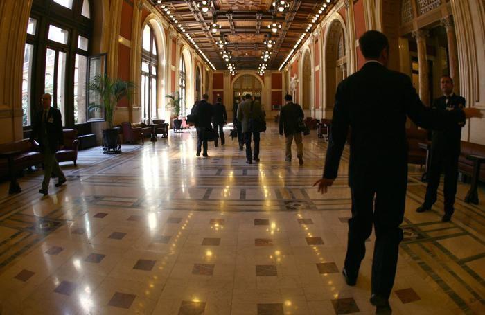 Il Transatlantico, il mitico corridoio di Montecitorio