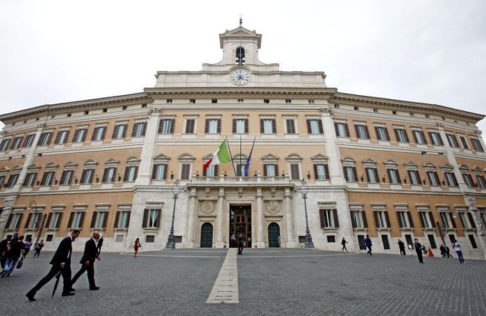 Montecitorio, sede della Camera